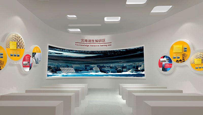 因此,安防行业展示馆的设计不仅需要有在展馆设计领域的经验,专业的