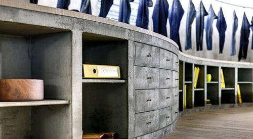伊斯坦布尔denim牛仔裤展厅设计